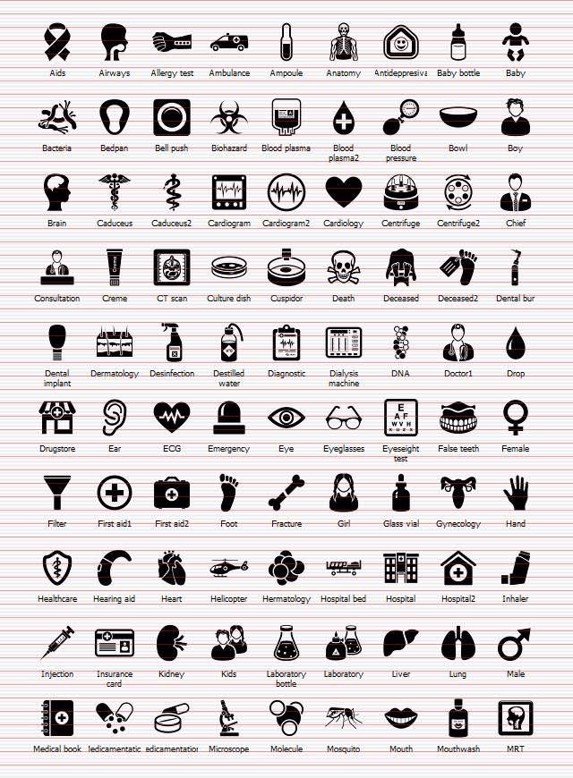 Shape Icons Medical