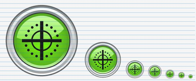 Vector Button 02 Screenshot
